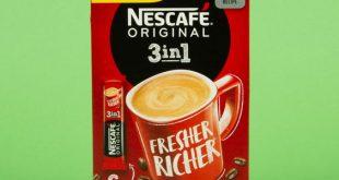 قیمت پودر قهوه نسکافه فوری 3*1